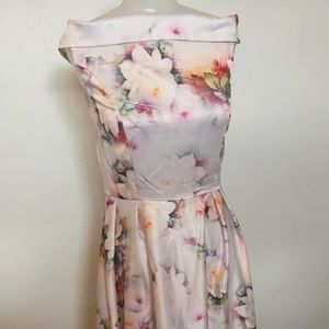 Dresses & Skirts - Floral high low gown